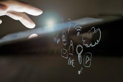 Energéticas y redes sociales